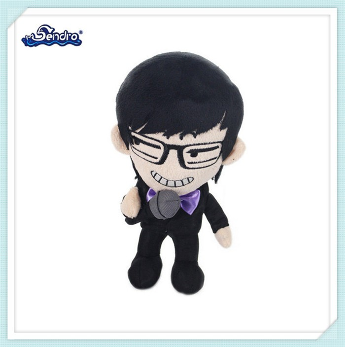 classical design stuffed cheap toy soft police plush toys for kids