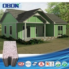 China manufacturer cheap eps ready made cement house in India