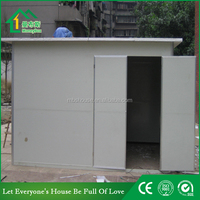 Cheap price storage house for sanitation storage lumber room