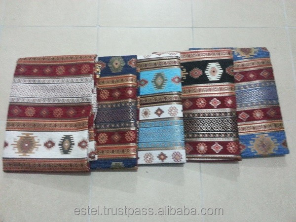 Turkish Kilim Design Fabric for upholstery