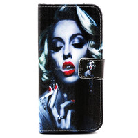 sublimation leather wallet case for iphone 6 6s customize printing factory price