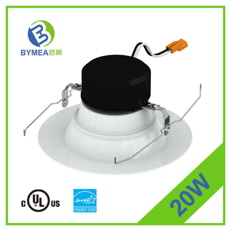 long lifespan dimmable led downlight warmwhite 20w ES Listed