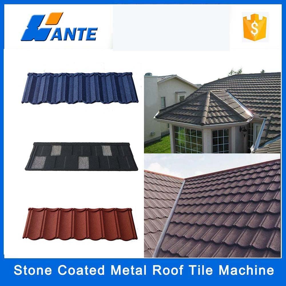 Low price colorful sand coated aluminum roofing shingles for Low cost roofing materials
