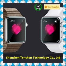 Big Promotion hight quality clear for apple watch screen protector anti finger print