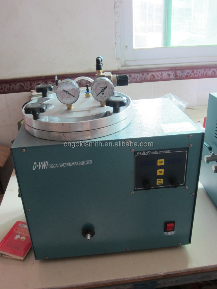 Digital Vaccum Wax Injector Vacuum Wax Injection jewelry casting machine