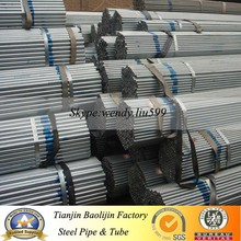 BS1139 Hot Dipped GI Scaffolding Pipe size