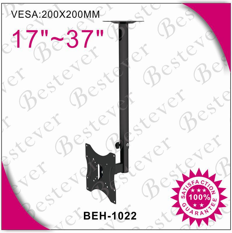 Suitable 14 to 37 in flat screen electronic ceiling tv mount With Max. VESA 200x200
