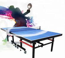 Wholesales indoor and outdoor MDF/SMC movable foldable movable Tennis Table