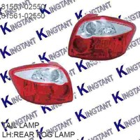 REAR FOG LAMP FOR TOYOTA AURIS 2010-ON NEW CAR
