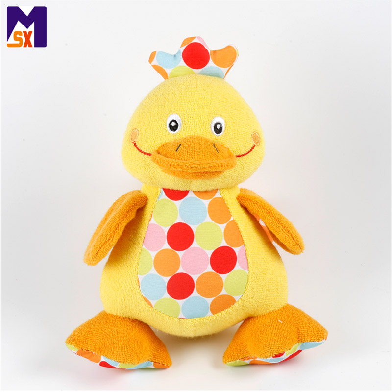 New kids toys for 2018 plush duck toy stuffed animal duck hanging toy