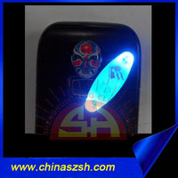 Factory Price Decorative Multicolor LED Mobile Phone Sticker, Glow LED Mobile Sticker, Light up Phone Sticker