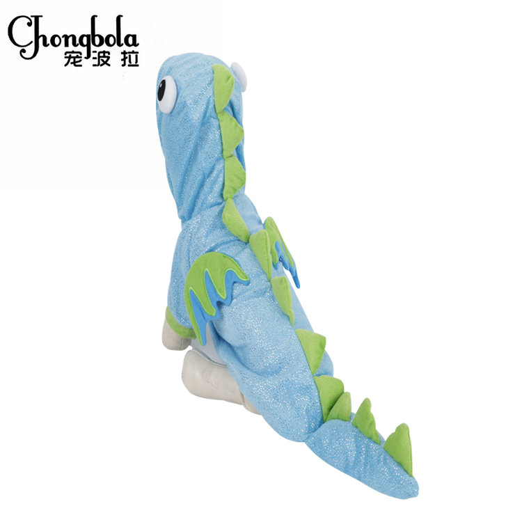 Durable and Cute Dinosaur Costume Small Dog Puppies for Sale Pet Clothes-pet Clothing-dog Clothes
