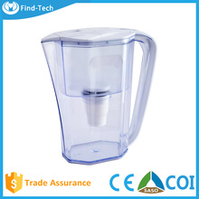 handy small and exquisite alkaline water filter pitcher/pot /water bottle , 3.5L alkaline water pitcher purifier