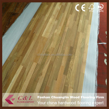 China Factory Popular Asian Teak Hardwood Flooring