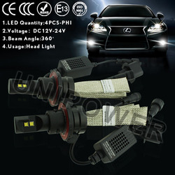 LED headlight factory price, h4 led headlight for motorcycle or motorbike