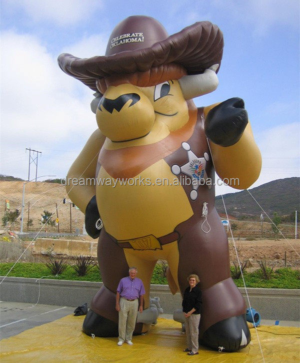 2016 Hot sale inflatable farm animals for advertising