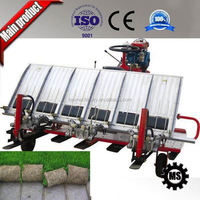Mini double wheel rice planter machine farm machinery