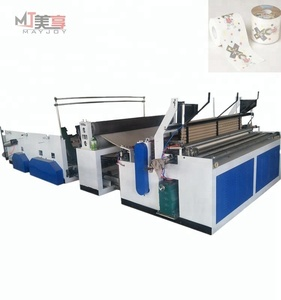 MAYJOY paper machine/ small toilet paper roll making machine production line