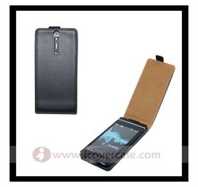 Premiun Cow leather case for Sony Xperia S LT26i,for sony xperia arc hd Nozomi SO-02D case