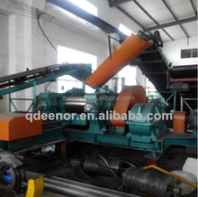 Used Tractor Tyre Cutter/Tyre Recycling Machine/Crumb Rubber Prices