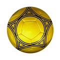 Golden emulational training used high quality hand sewed TPU soccer ball