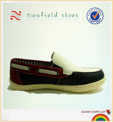 Wholesale leather baby boys causal shoes handsome and cool children shoes