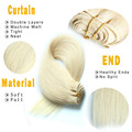 Golden Suppliers Permium Human Hair Straight Packing Brazilian Hair Extensions