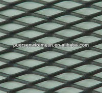 mightey steel expanded metal mesh/Extrude diamond metal sheets