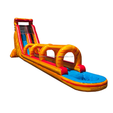Largest inflatable water slide,slip and slide,large outdoor slide W4218