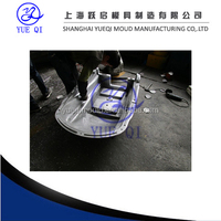 aluminum rotational molding for scrubber shell with cnc process