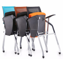 High Quality Folding Stacking Office Seating Chairs / Office Training Chair / Office Meeting Chair
