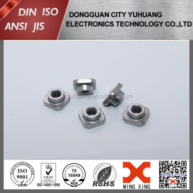 stainless steel welding nut/square nut/tube nut