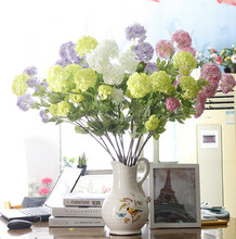 Zhuoou Decorative Colorful Plastic Hydrangea Flower Artificial Hydrangea Flower Ball for Home