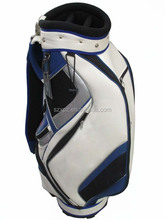 Custom PU professional golf cart bag men golf bag high quality golf stand bag