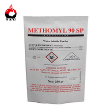 methomyl water soluble powder plastic back seal pesticide bags for sale