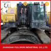 manual used backhoe excavator ec380DL for sale with lowest price