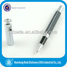 new design gel ink silver pen for leather marking