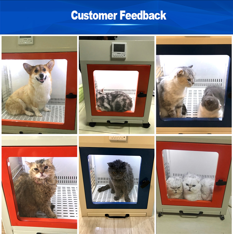 Customized home commercial dog hair dryer pet dry room machine