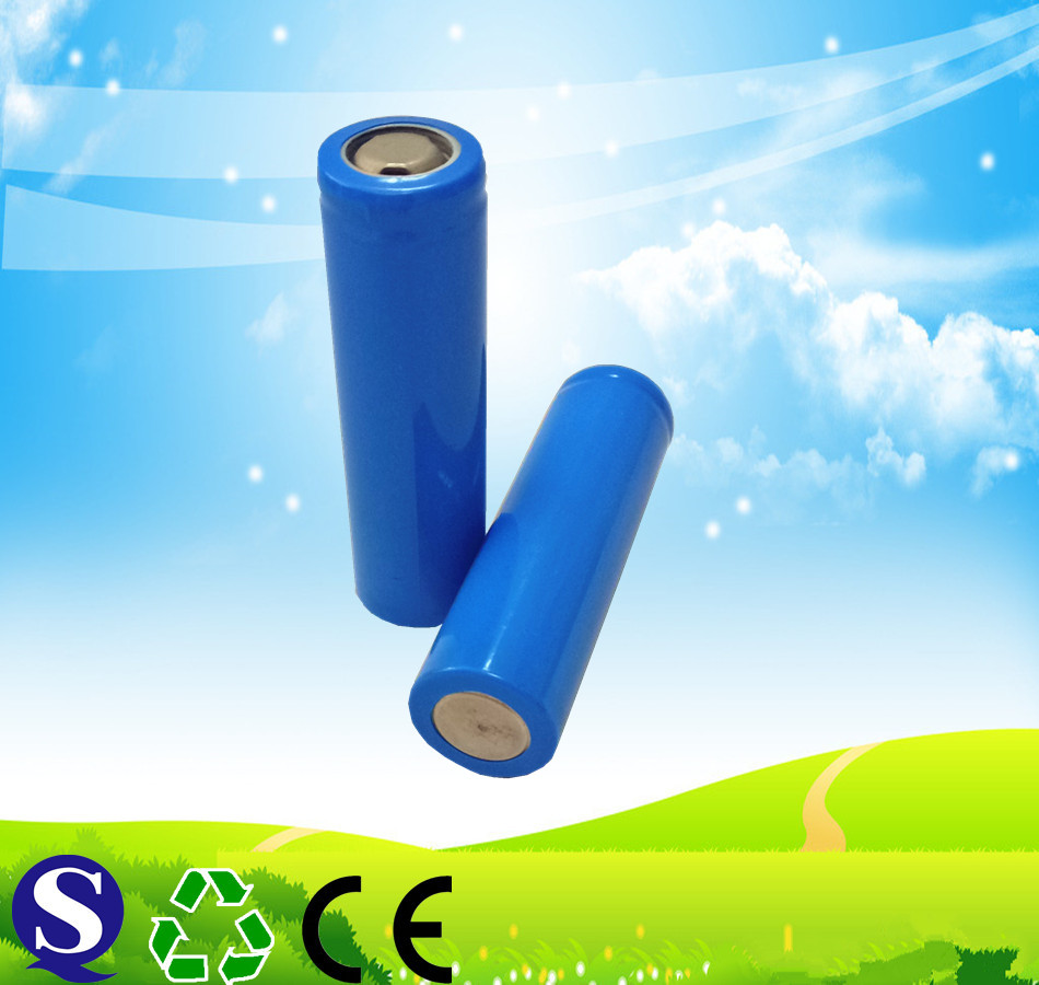 14650 battery 3.7v 1100mah li ion rechargebale battery