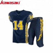 2018 new custom design sublimation american football uniforms