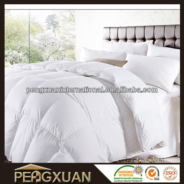soft white duck goose down feather hotel quilt comforter duvet