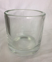 WHOLESALE CLEAR TALL GLASS CANDLE HOLDER CHEAP