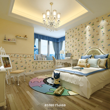 high quality beautiful factory supplier korean bedroom wallpaper