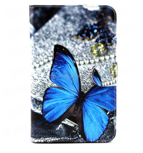 NEW!! wholesale Custom tablet art pu leather case