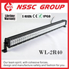 Wholesale double row offroad light Auto Car IP68 Led light bar for trucks JEEP SUV 4x4