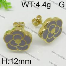 Wholesale Fashion Latest stud clip earring parts