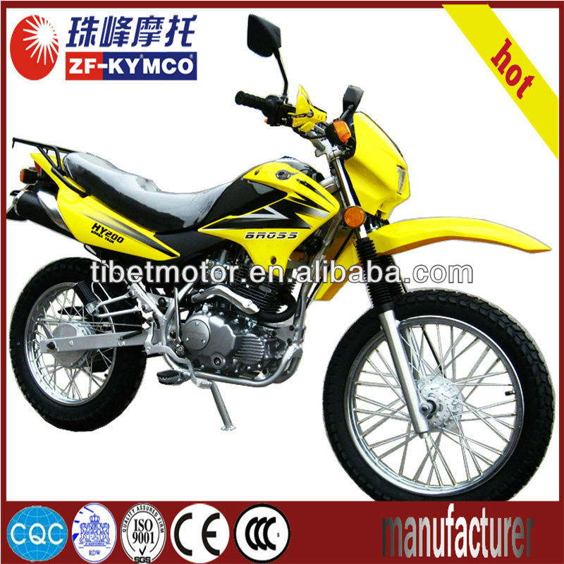 Super classic gas off road motorcycle ZF200GY