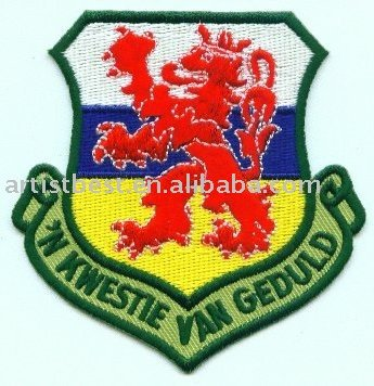 Embroidery Military Badge