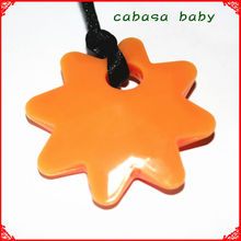 Best Quality Food Grade Soft Silicone Teething Pendant