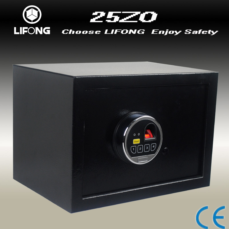 Factory supply fingerprint biometric safe deposit box safe with electronic combination lock